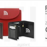 a8d944e1723e6 Portfel damski skórzany z zabezpieczeniem skanowania kart RFID PROTECTION  PD-357 Red