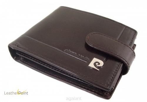 63dac17b7ab6c Skórzany portfel męski Pierre Cardin 507-323
