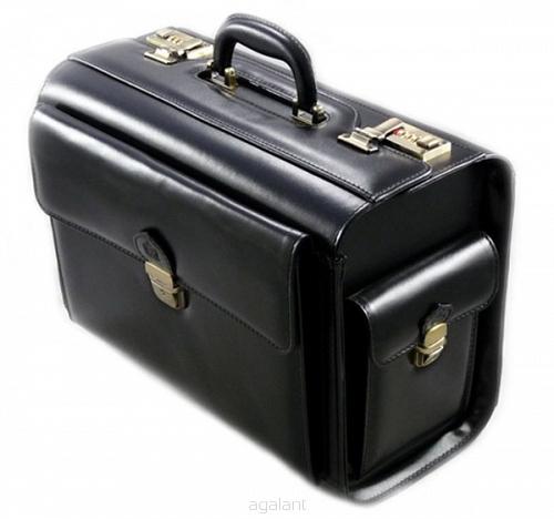 b5f36041046b9 Kufer skórzany lotniczy, torba lekarska N-04 M - Galanteria skórzana ...