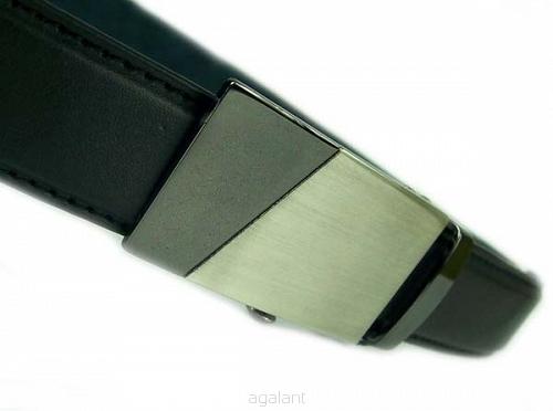 026eb6c40de1ce Pasek męski skórzany do garnituru z automatyczną klamrą, PAS-330A